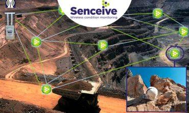 Monitoreo inalámbrico de movimiento de laderas, túneles y estructuras
